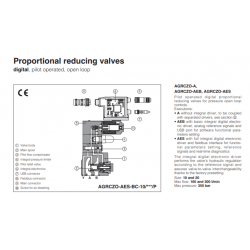Proportional reducing valves AGRCZO-A