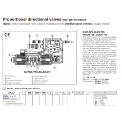 Proportional directional valves high performance DHZO-T, DKZOR-T