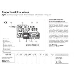 Proportional flow valves QVHZO-T, QVKZOR-T