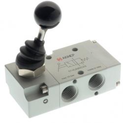 Zawory mechaniczne Aignep 3/2 NC z dźwignią