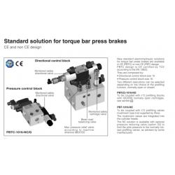 Standard solution for tarque bar press brakes PBT