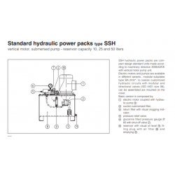 Standard hydraulic power packs type SSH