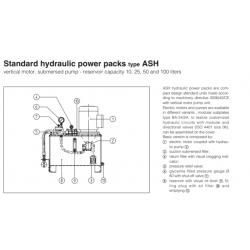 Standard hydraulic power packs type ASH
