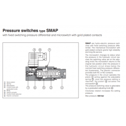 Pressure switches type SMAP
