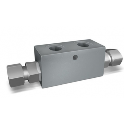 DOUBLE PILOT OPERATED CHECK VALVES FOR 12mm VBPDE 2 CC BANJO MOUNTING (DIN 2353)
