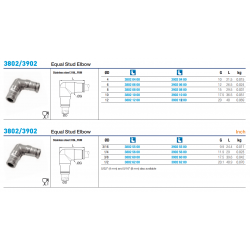 3802/3902 Equal Stud Elbow