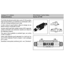 Series D1VW Directional Control Valve