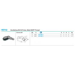 9071U Oscillating ISO B Probe, Male BSPP Thread