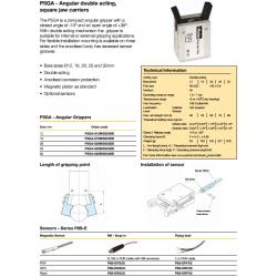 Angular Grippers - P5GA Series