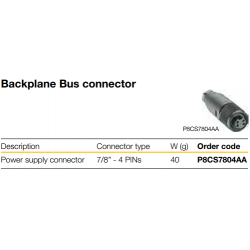 Backplane Bus Extension Power Supply module