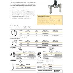 Stainless Steel FRLs