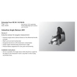 Inductive Angle Sensor AN1 Series 2 Inductive sensor for angular measurement