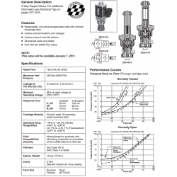 Poppet Type, 2-Way Valve Series DSH161