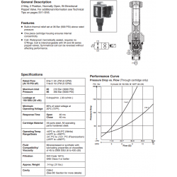 Bi-Directional Poppet Type, 2-Way Valve Series GS02 85/86