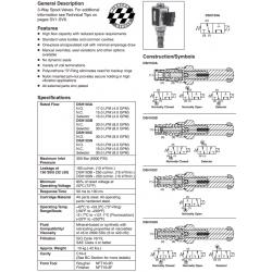Spool Type, 3-Way Valve Series DSH103