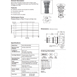 Spool Type Logic Valve Series 20SLC2-B