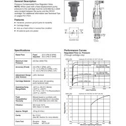 P.C. Flow Regulator Valve Series FR101