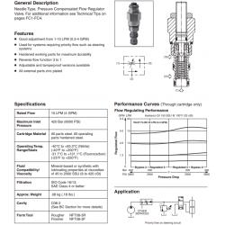 P.C. Priority Flow Control Valve Series J02D3