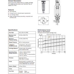 Dual Cross-Over Relief Valve Series XR101