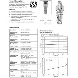 P.O. Sequence Valve (Internal Pilot) Series SVH101
