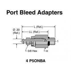 Port Bleed Adapters.4 P5ONBA.
