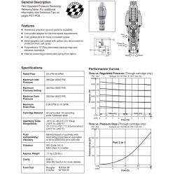 P.O. Pressure Reducing/Relieving Valve Series PRH081