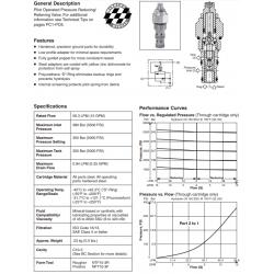 P.O. Pressure Reducing/Relieving Valve Series PRH101