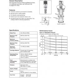 P.O. Pressure Reducing/Relieving Valve Series PRH161