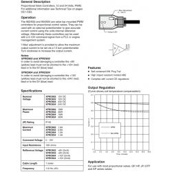 Proportional Valve Controller Series XPRO902, 932, 904, 934