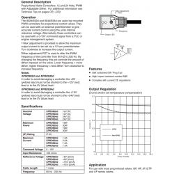 Proportional Valve Controller Series XPRO902d, 932d, 904d, 934d