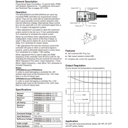 Proportional Valve Controller Series XPRO902rid, 932rid, 904rid, 934rid