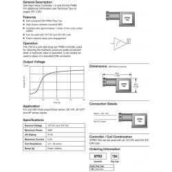 Soft Start Valve Controller Series XPRO704