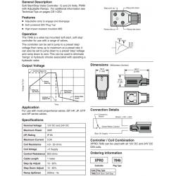 Soft Start/Stop Valve Controller Series XPRO704b
