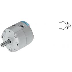 Semi-rotary drives DRVS, double-acting