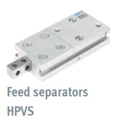 Feed separators HPVS