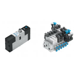 Solenoid valves VSVA, to ISO 15407-1