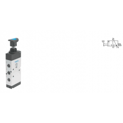 Pushbutton valves VHEM-P