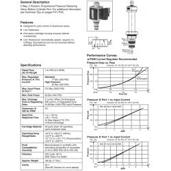 Proportional Pressure Reducing Valve Series GP0130