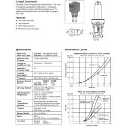 N.C. Proportional Needle Valve Series DF201C