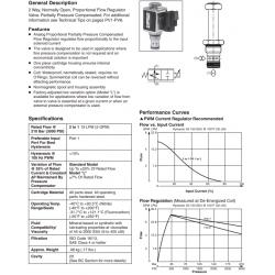 Proportional Flow Regulator Valve Series HP02P 21