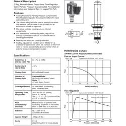 Proportional Flow Regulator Valve Series HP04P 21