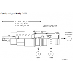 PRHRLAN Direct-acting, pressure reducing valve