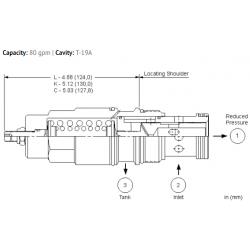 PRJRLAN Direct-acting, pressure reducing valve