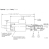 PRDPMDN Electro-proportional, direct-acting, pressure reducing/relieving valve