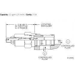 NFDCLAN Fully adjustable needle valve