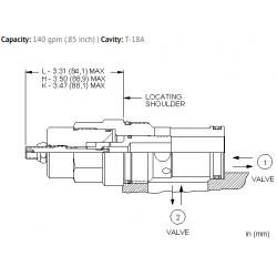 NFFDLIN Fully adjustable needle valve
