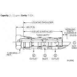 FSDDXAN Flow divider valve