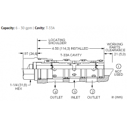 FSEDXAN Flow divider valve