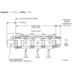 FSFRXAN High accuracy synchronizing, flow divider-combiner valve