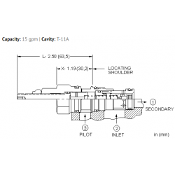 LPDCXHN Normally open, modulating element